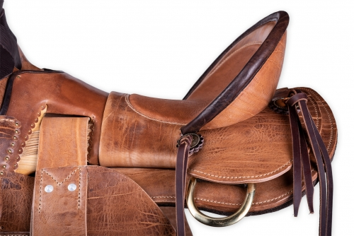 Wade saddle custom made by horsegear Sattlerei Germany 3