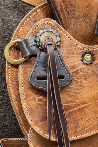 Wade saddle custom made by horsegear Sattlerei Germany 4