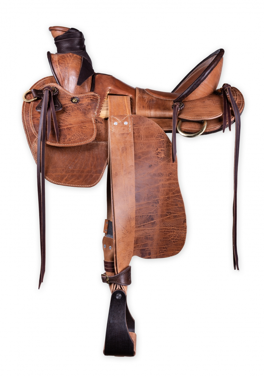 Wade saddle custom made by horsegear Sattlerei Germany 1